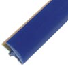 Blue smooth T-molding