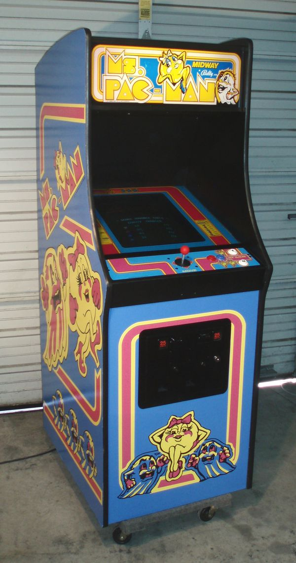 Ms Pac Man Arcade Video Game Machine Aceamusements Us