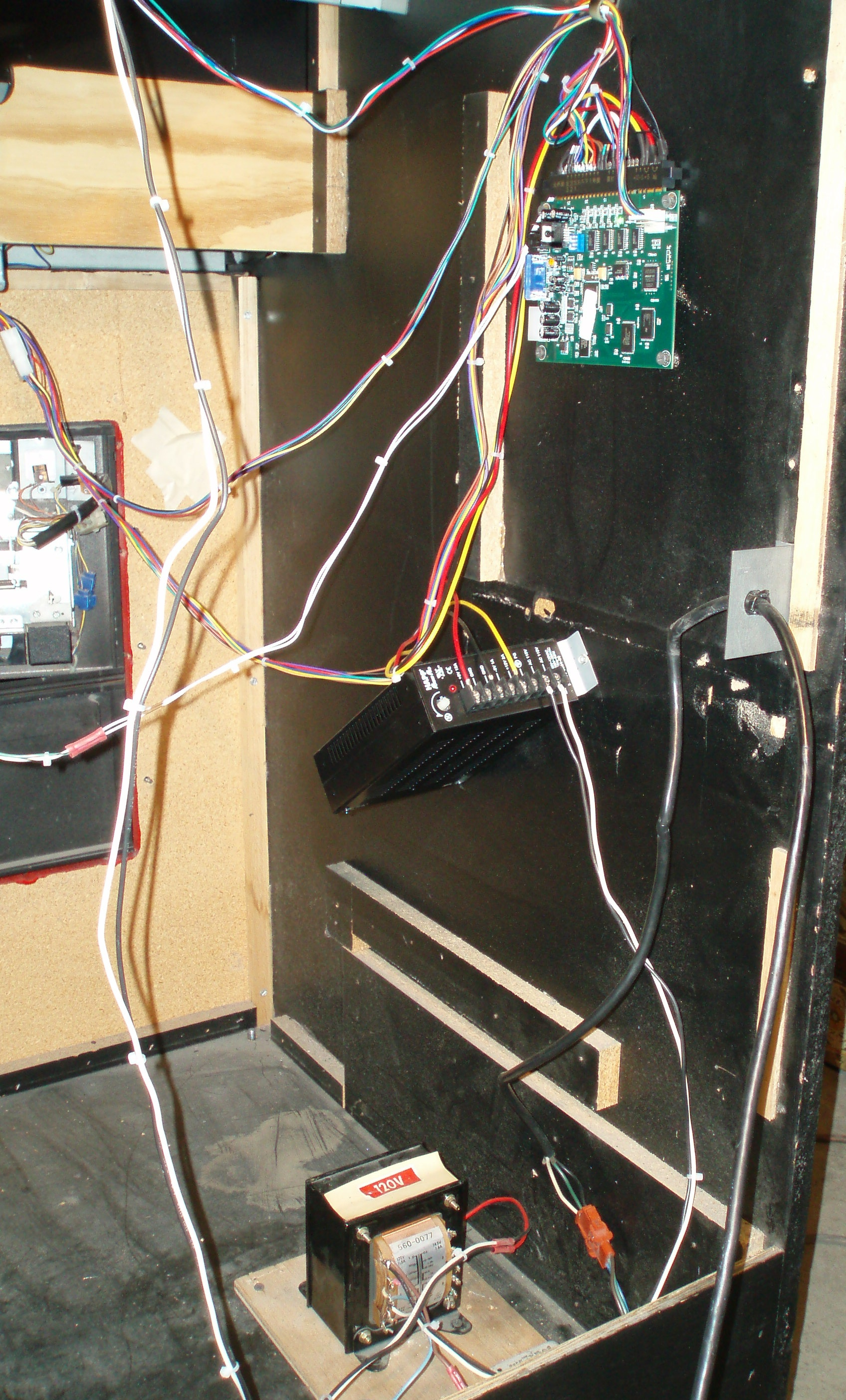 Arcade Video Game Switching Power Supply Installation ... on