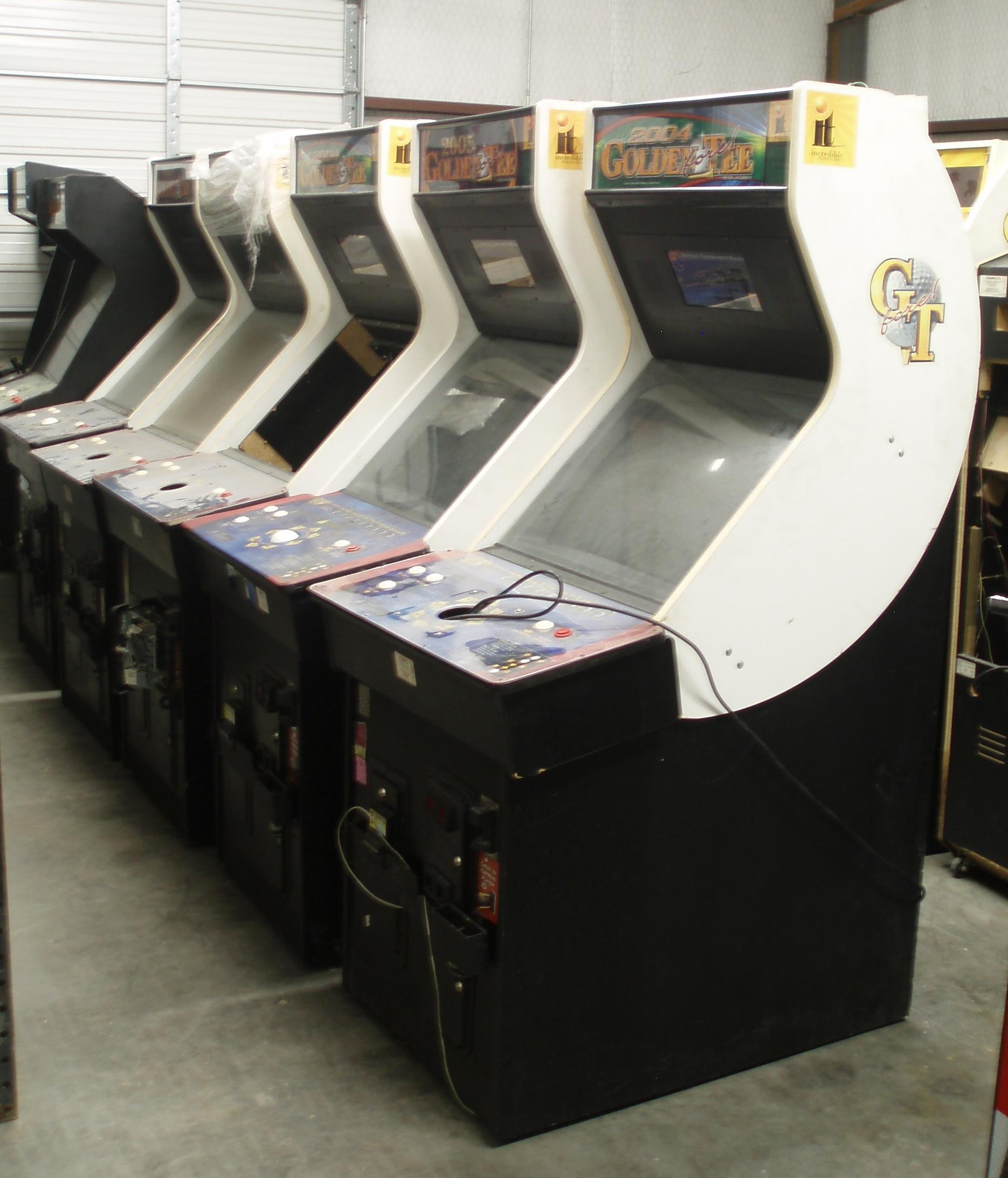 Golden Tee Golf Arcade Video Game Machine - AceAmusements us