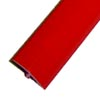 Red smooth T-molding