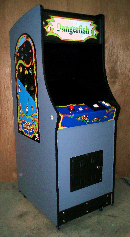Galaga Arcade Cabinet Kit Cabinets Matttroy