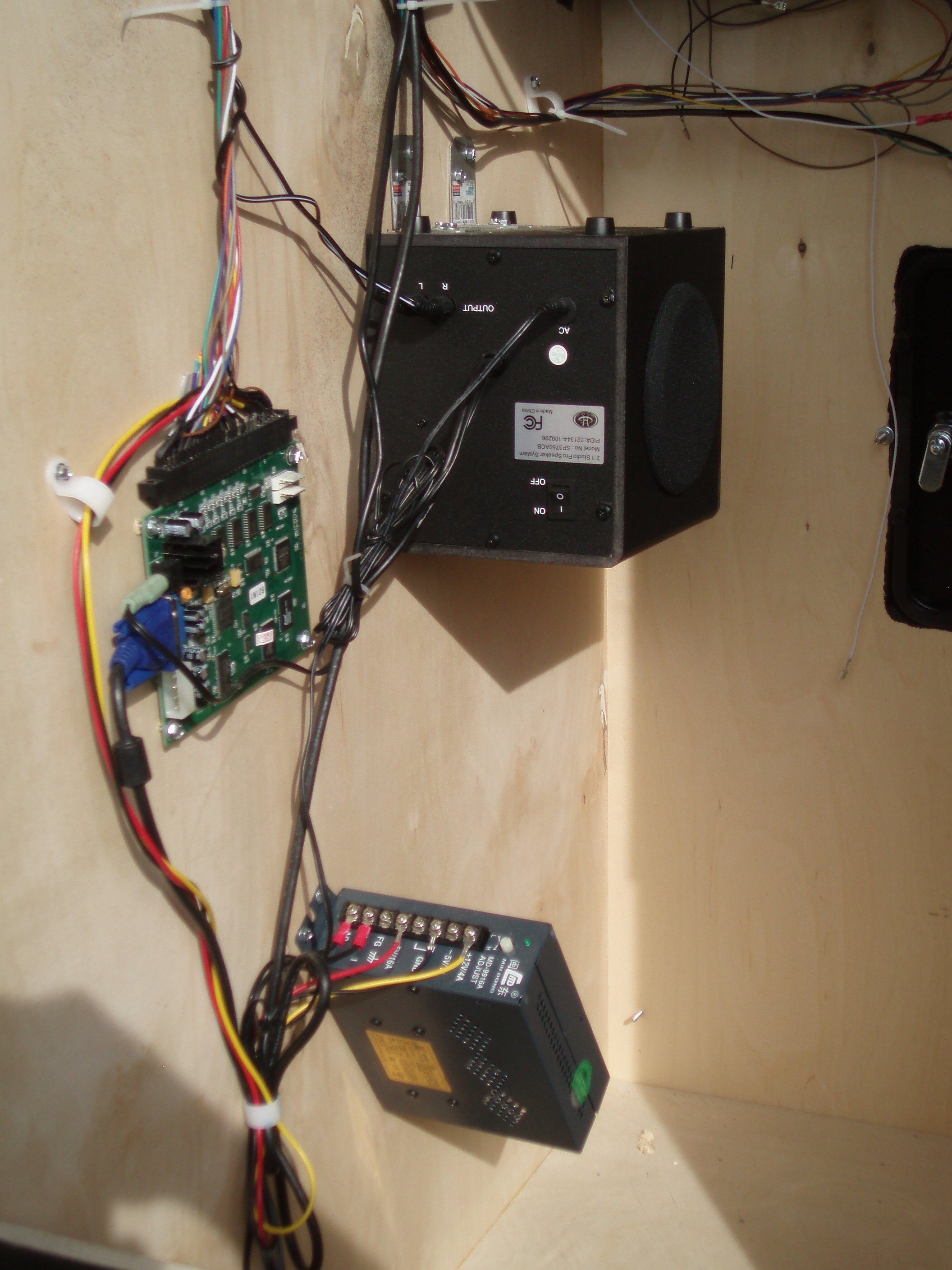16 Amp Arcade Switching Power Supply With Terminals Hardware And 5 Jamma Board Wiring Diagram Installation To