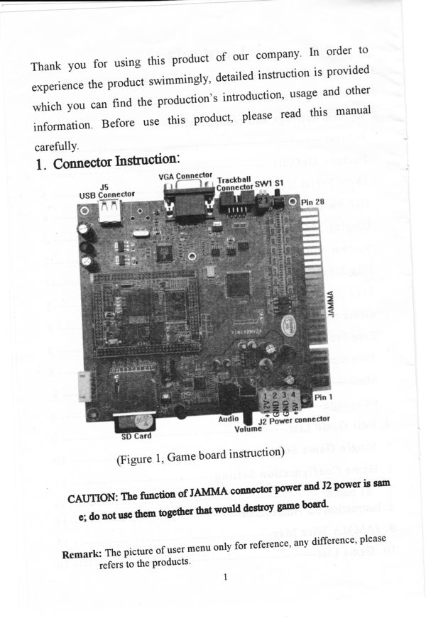 Game Tornado 355 In 1 System User Manual With Game List
