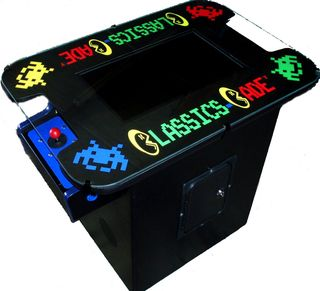 Ace Amusements 60-in-1 Custom Cocktail Table Multicade