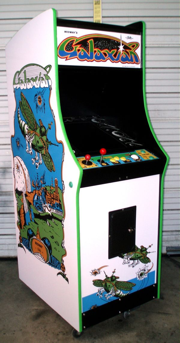 & Classic Midway-Style Video Game Cabinet - AceAmusements.us