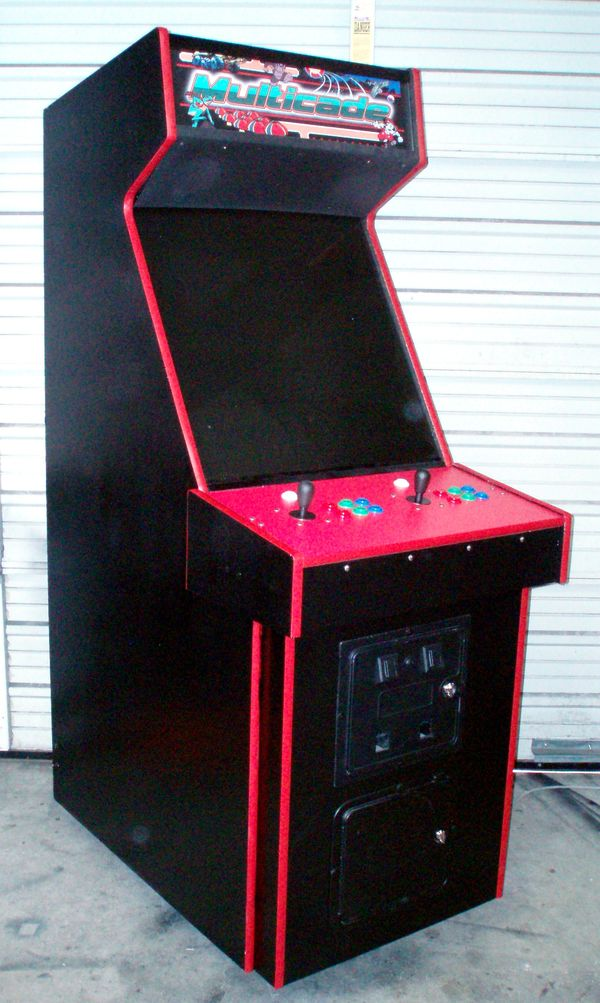 Competition Style Multicade Arcade Video Multi Game ...