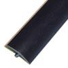 Black smooth T-molding