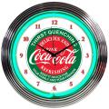 Coke neon clock