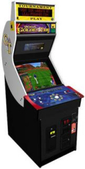 Golden tee with header