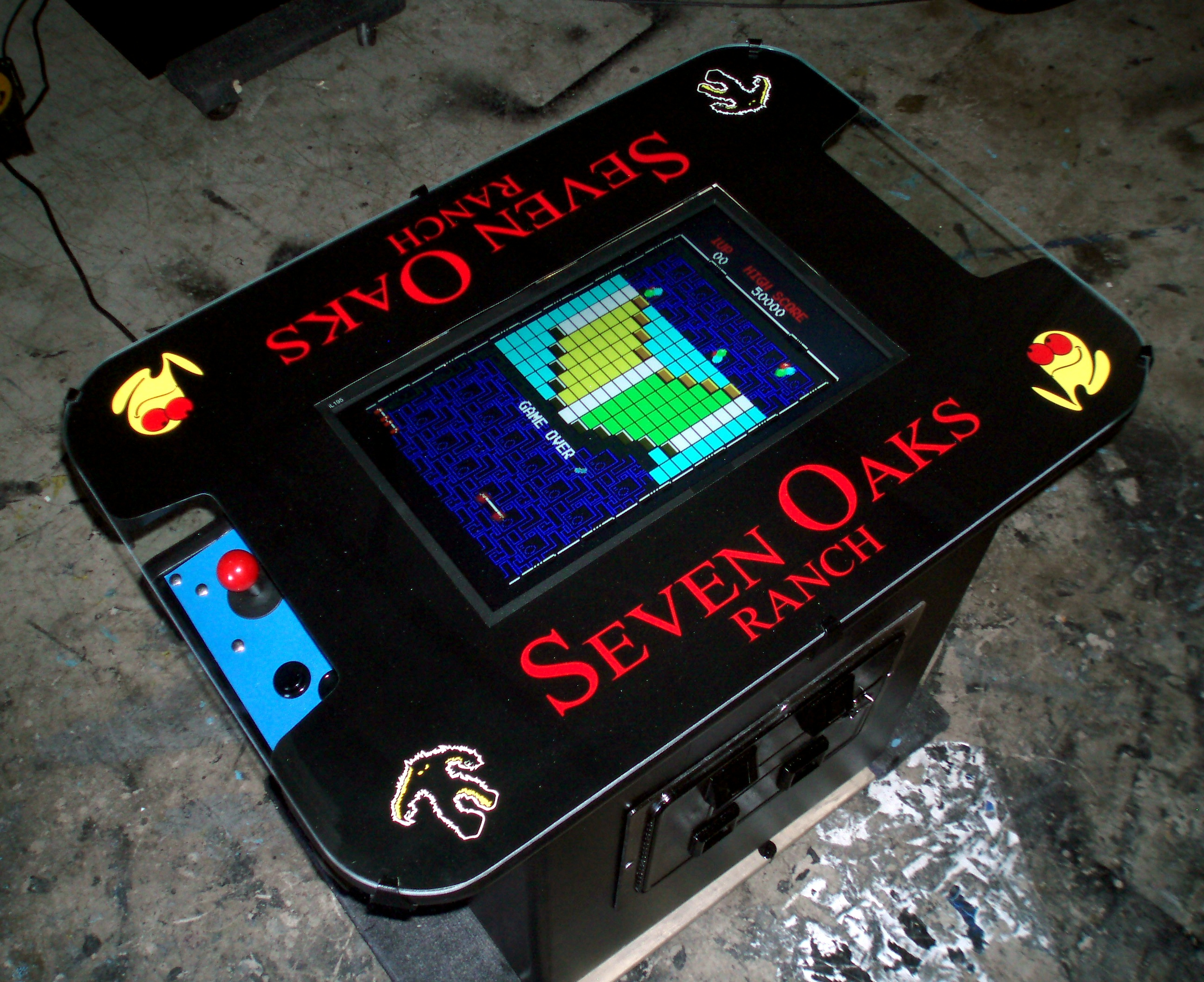 Classic Midway Style Cocktail Table Video Game Machine