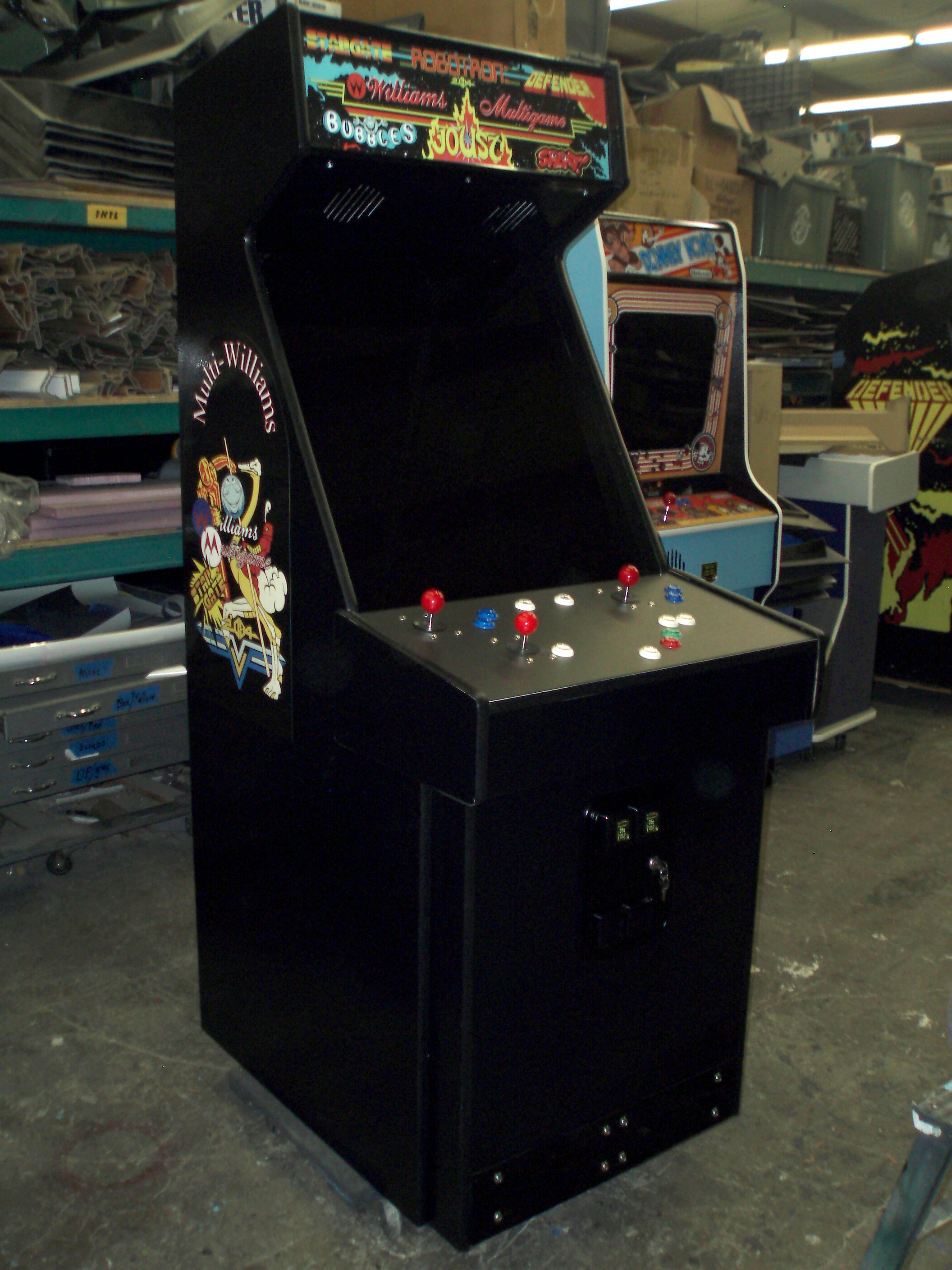 Defender and Stargate Arcade Control Panel Layout - AceAmusements us