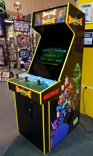 Rampage Rampage World Tour Arcade Video Multi Game