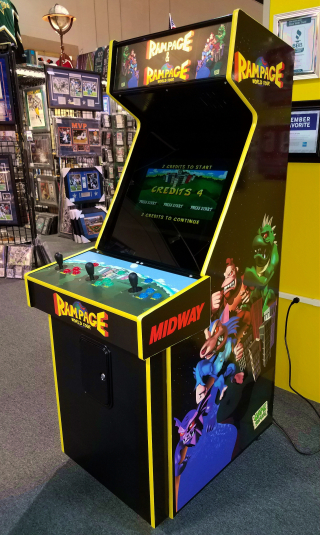 Rampage / Rampage World Tour Arcade Video Multi Game Machine For