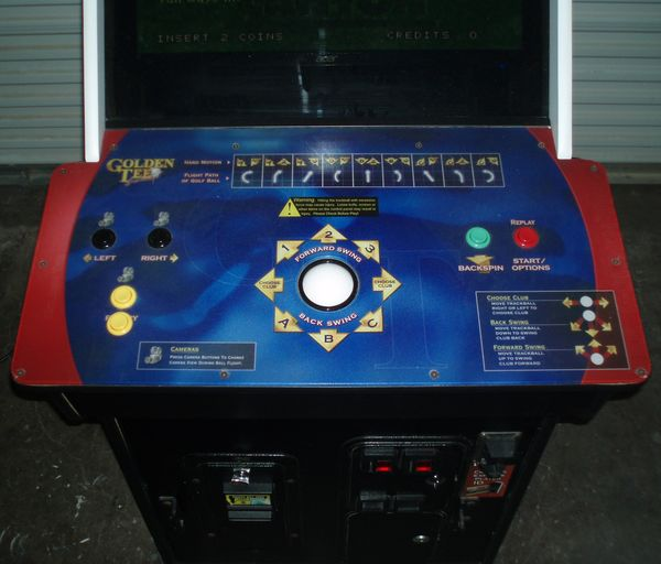 Golden Tee Golf Arcade Video Game Machine Upgrade