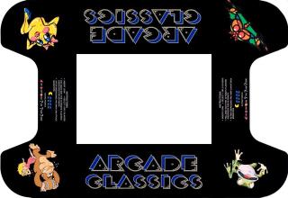 Arcade classics underlay