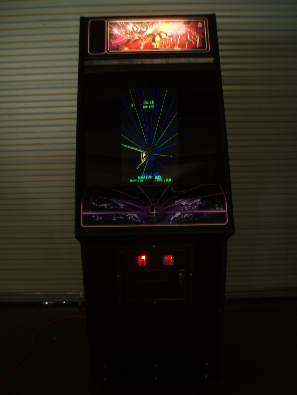 Tempest / Tempest Tubes Arcade Video Multi Game Machine For Sale