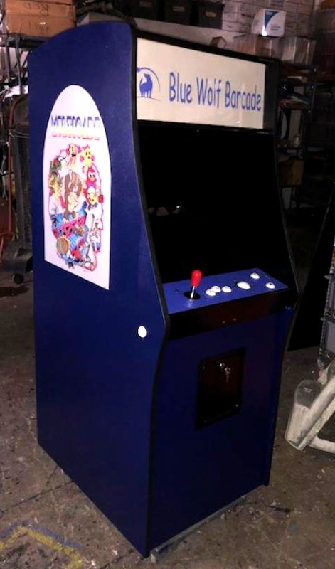 Classic Midway Style Video Game Cabinet Aceamusements Us