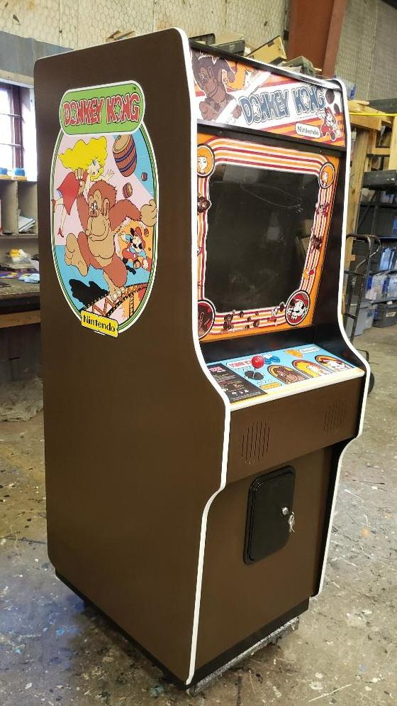Donkey Kong Arcade Video Game Machine Aceamusements Us