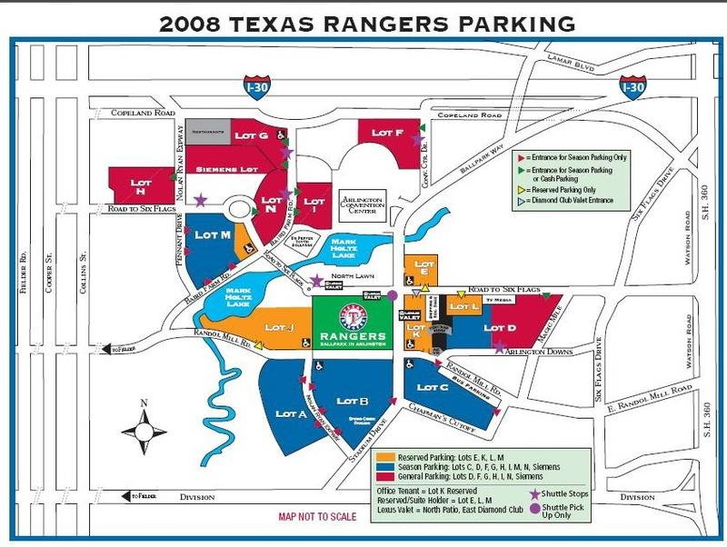 Map Of Texas Rangers Stadium.Texas Rangers Parking Map Business Ideas 2013