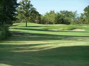Dallas Golf Courses Map on